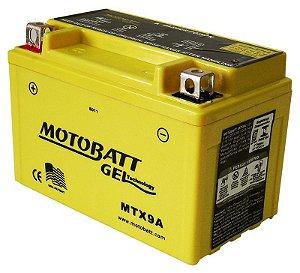 Bateria Gel Motobatt Mtx9a Ytx9-bs Honda CB 600 Hornet