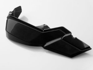 Kit Do Extensor Do Protetor De Mão Kobra Preta SW-Motech