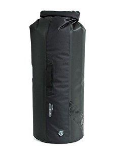 Saco Estaque Impermeável Moto Dry Bag Com Válvula 59 Litros Preta Ortlieb