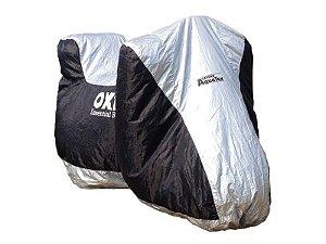 Capa para moto com espaço para Top Case Waterproof Aquatlex Tamanho X-Grande - Edição especial