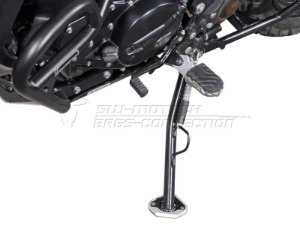 Base Ampliada De Descanso Lateral Prata BMW F 800GS Adventure SW-Motech