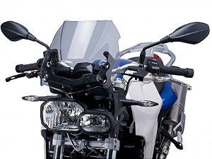 Bolha Naked Em Acrílico Fumê Clara BMW F 800R Puig