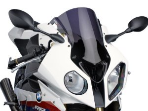 Bolha Racing Em Acrílico Fumê Escura BMW S1000RR Puig