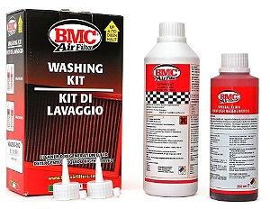 Kit Limpeza Lubrificação Filtro de Ar BMC