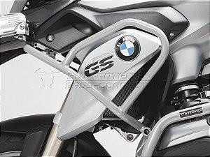 Protetor De Motor Lateral Superior Prata BMW R 1200GS 2013