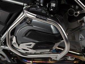 Protetor De Motor Lateral Prata Semi-Brilho BMW R 1200GS