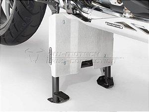 Extensor Traseiro Do Protetor de Cárter em Alumínio Natural BMW R 1200GS