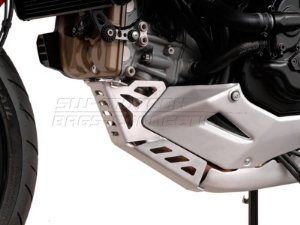 Protetor do Cárter Skid Plate Alumínio Ducati Multistrada 1200