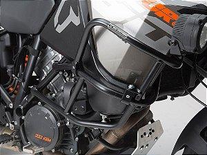 Protetor De Motor Lateral Superior Preto-Brilho KTM 1190 Adventure R
