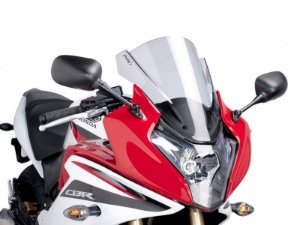 Bolha Racing Em Acrílico Fumê Clara Honda CBR 600F