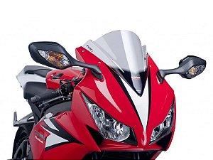 Bolha Racing Em Acrílico Fumê Clara Honda CBR 1000RR 2012 - 2014