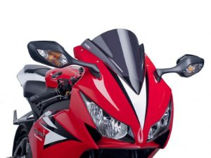 Bolha Racing Em Acrílico Fumê Escura Honda CBR 1000RR 2012 - 2014