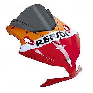Bolha Racing Repsol Edition Em Acrílico Fumê Escura Honda CBR 1000RR 2012 - 2016