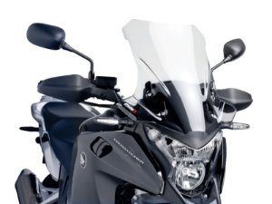 Bolha Touring Em Acrílico Transparente Honda VRF 1200X Crosstourer Puig