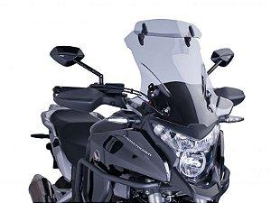Bolha Touring Em Acrílico com Defletor Honda VRF 1200X Crosstourer Puig