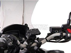 Suporte De Fixação Para GPS Guidão SW-Motech Honda VFR 1200X Crosstourer