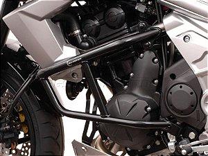 Protetor de Motor Lateral Preto Kawasaki Versys 650