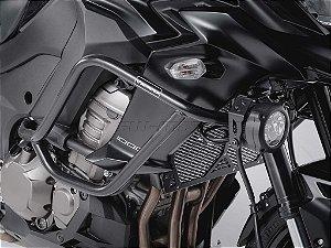 Protetor de Motor Lateral Preto Kawasaki Versys 1000 2015