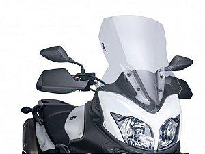 Bolha Touring Em Acrílico Transparente Suzuki V-Strom 650 Puig