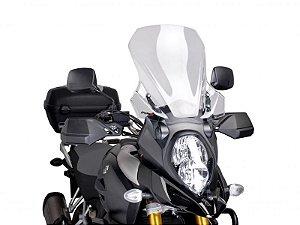 Bolha Touring Em Acrílico Transparente Suzuki V-Strom 1000 Puig