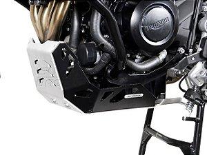 Protetor do Cárter Skid Plate Alumínio Triumph Tiger 800