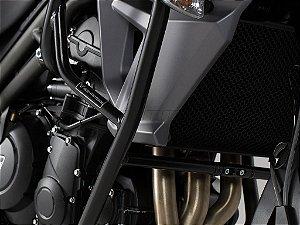 Protetor de Motor Lateral Preto Triumph Tiger 800 XC XCX XRX 2015