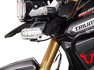 Kit de Fixação de Farol Auxiliar Preto SW-Motech Triumph Tiger1200 XC Explorer