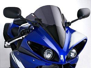 Bolha Racing Em Acrílico Fumê Escura Yamaha YZF R1 Puig