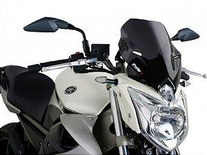 Bolha Naked Em Acrílico Fumê Escura Yamaha XJ6-N Puig 2010 - 2014