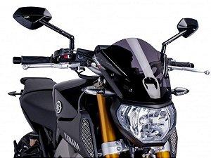 Bolha Naked Sport Em Acrílico Fumê Escura Yamaha MT-09 Puig