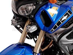 Kit de Fixação de Farol Auxiliar Preto SW-Motech Yamaha XT 1200Z Super Ténéré