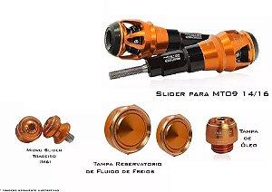 Kit de Slider Procton - Yamaha MT-09 com cabeça F1