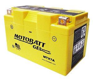 Bateria Gel Motobatt Mtx7a Ytx7a-bs Suzuki An 125 Burgman