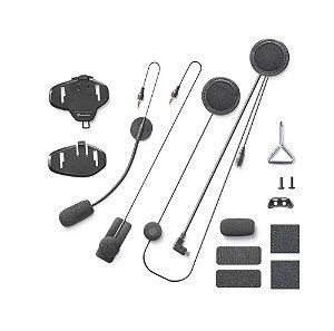 Kit de Áudio Extra de Fixação e Fios para Intercomunicador Interphone Tour / Sport / Urban