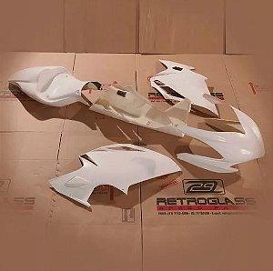 Kit de Carenagem em Fibra para Rua - MV Agusta F3