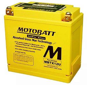 Bateria Motobatt Mbtx12u Ytx12bs Yamaha Tdm 850