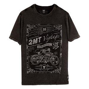 Camiseta 2mt Custom Skull Vintage