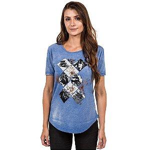 Camiseta 2mt Mmt Moto Story Vintage Feminina