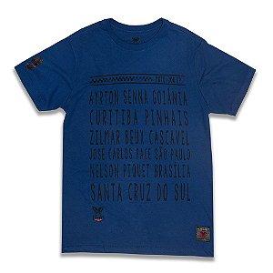 Camiseta 2MT Race Tracks