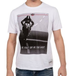 Camiseta 2mt Screen Rider Branca Masculina