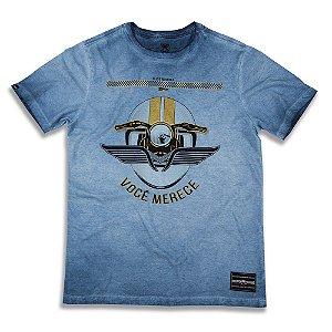 "Camiseta 2mt Mmt ""Você Merece"" Masculina"