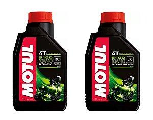 Kit de Óleo de Motor 5100 10w40 4t 2 unidades 2L