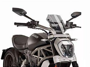 Bolha Pára Brisa Naked Sport Fumê Claro Ducati X-Diavel Puig