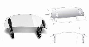 Defletor Vento Transparente Para Bolha Puig BMW F700GS