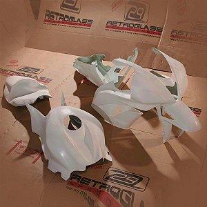 Kit de Carenagem em Fibra para Corrida - CBR 600RR