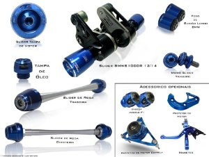 Kit de Slider Procton - BMW S1000RR 2010 - 2014