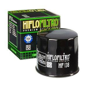 Filtro de Óleo Hiflofiltro HF-138 Kawasaki KLV 1000