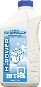 Água Desmineralizada para Bateria (1 Litro)