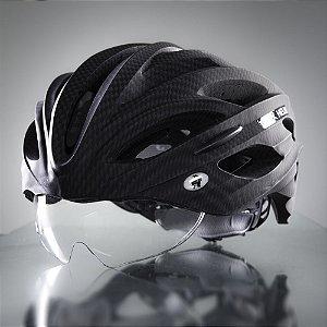 Viseira Capacete Dux Helm Bike Cristal Transparente