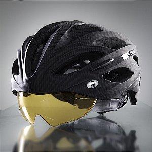 Viseira Capacete Dux Helm Bike Ambar